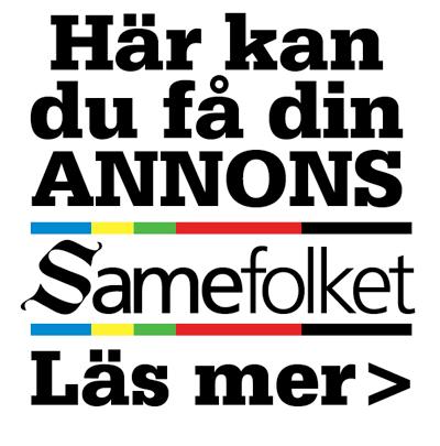 Annonsera i Samefolket